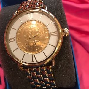 Bellizza watch  bronze with gold plating